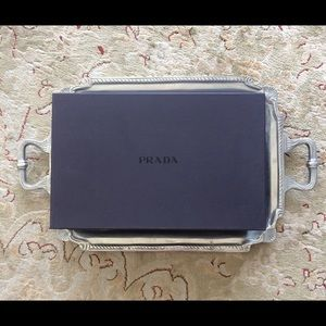 Prada Empty Shoe Box Dark Purplr